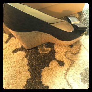 Michael Kors Logo Wedge shoes